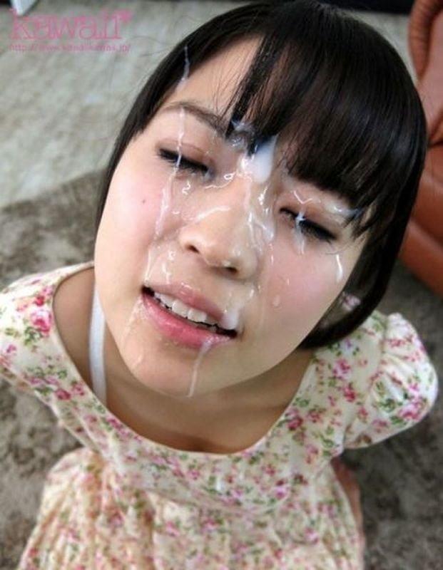 Pretty girl bukkake-4045