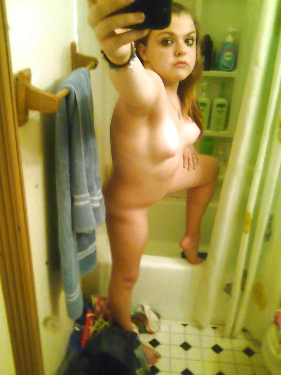 High school teen nude selfie-1053