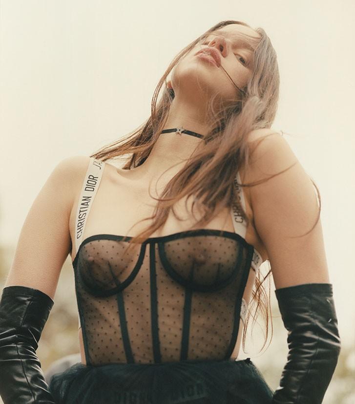 Lily McMenamy by Amanda Charchian - Dior Special
