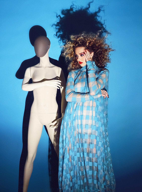 Делайла Белле и модные манекены, фотограф Энрике Вега / фото 09