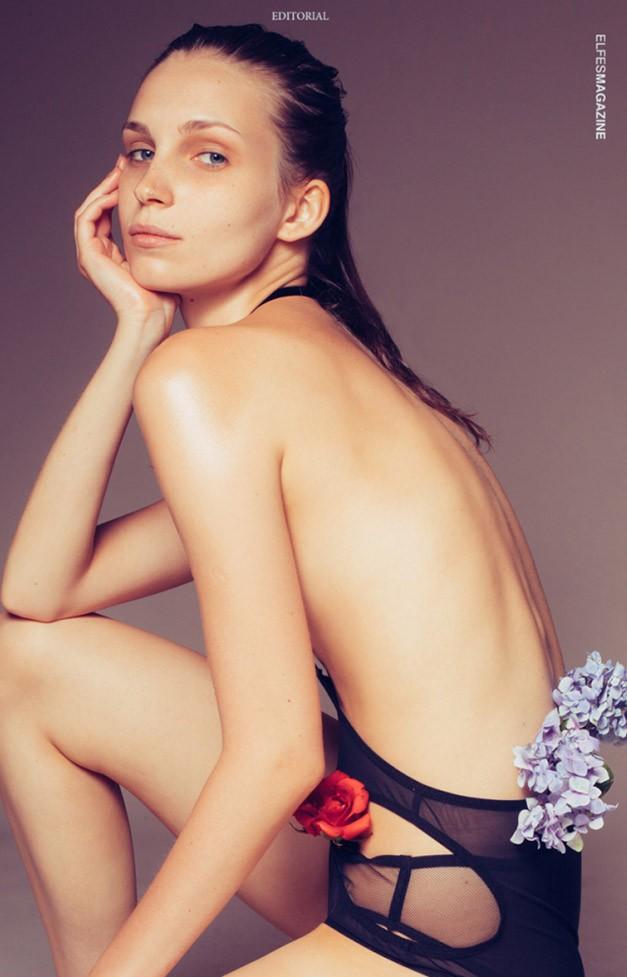 Kвітка - Анна Савчук / Ganna Savchuk by Omar Coria - Elfes Magazine