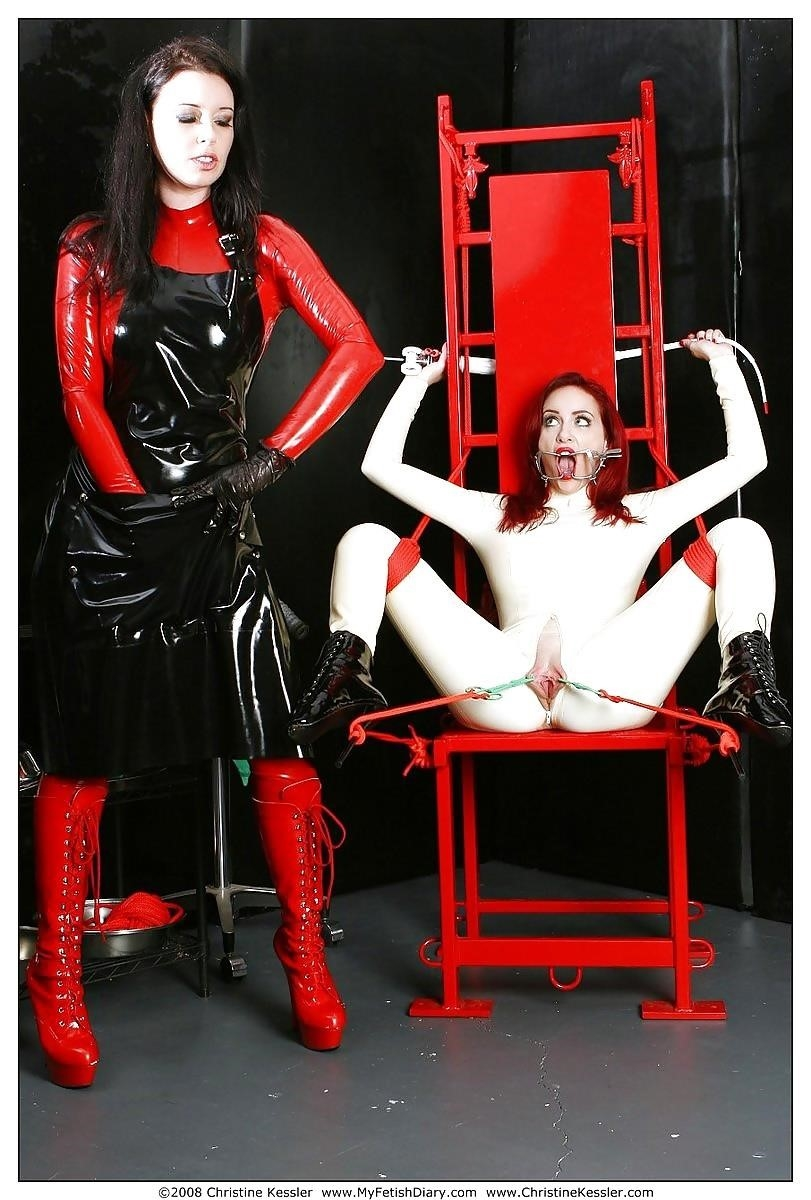 Lesbian medical bondage-9156