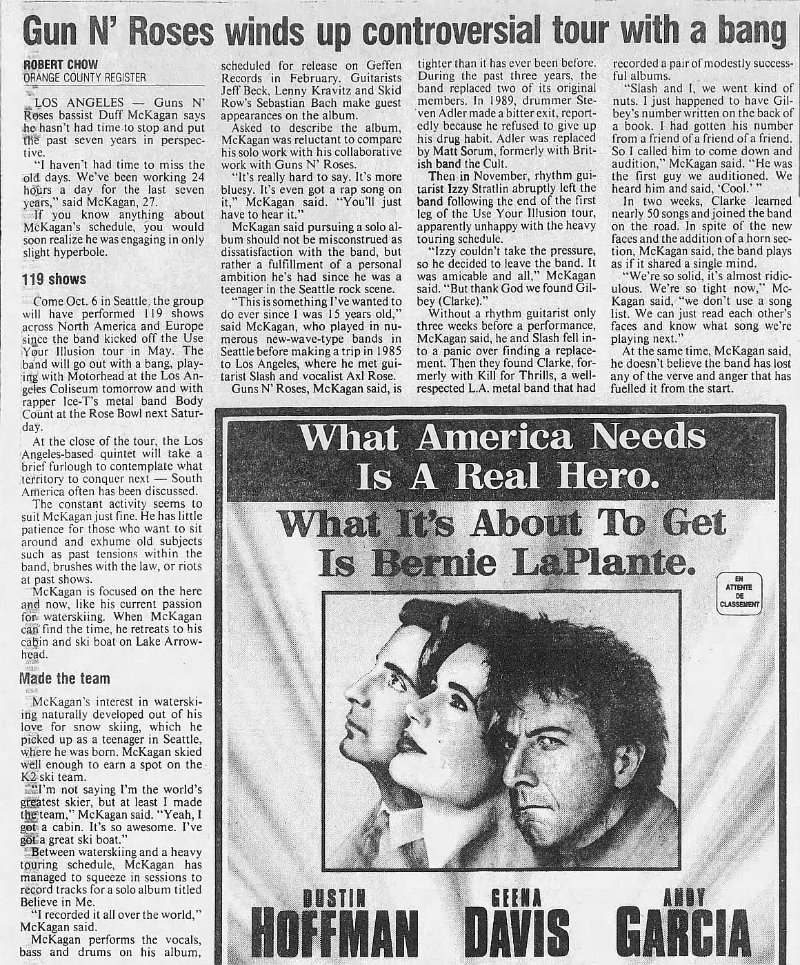 1992.09.26 - The Gazette/Orange County Register - Interview with Duff Z8wmhG7B_o
