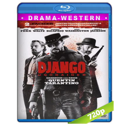 Django Sin Cadenas (2012) BRRip 720p Audio Trial Latino-Castellano-Ingles 5.1