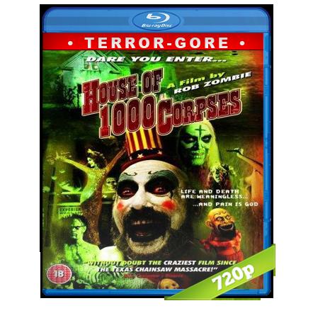 La Casa De Los 1000 Cadaveres 720p Lat-Cast-Ing 5.1 (2003)