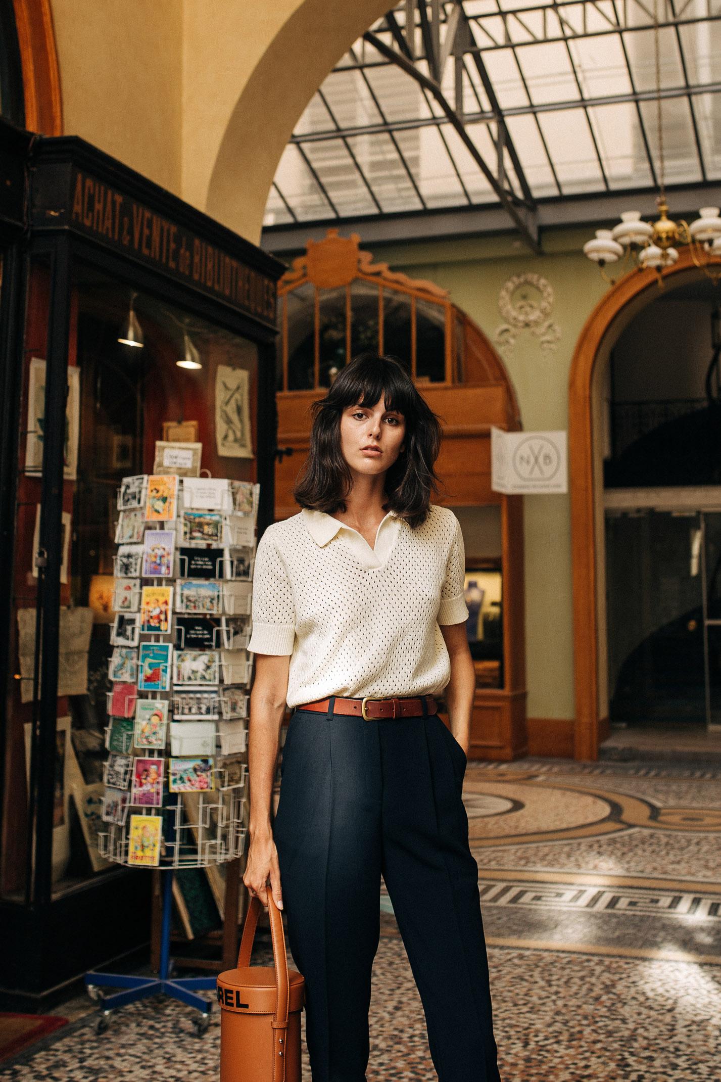 прогулка по парижской торговой галерее с Жустин Соранзо / фото 01