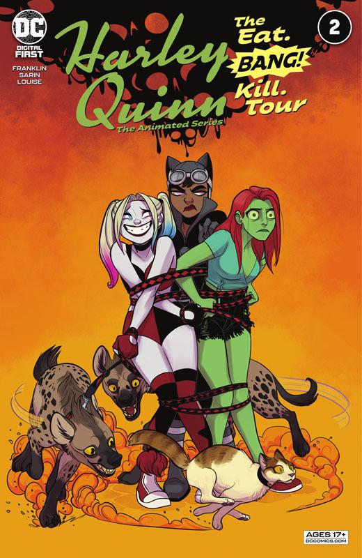 Harley Quinn - The Animated Series - The Eat. Bang! Kill. Tour #1-2 (2021)