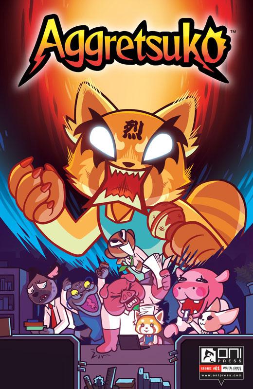 Aggretsuko #1-2 (2020)