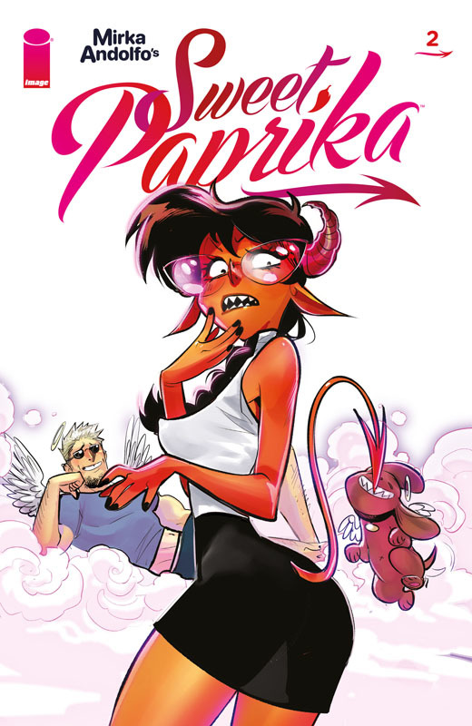 Mirka Andolfo's Sweet Paprika #1-4 (2021)