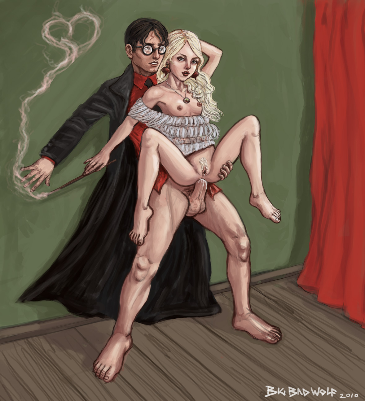 Harry Potter anální sex