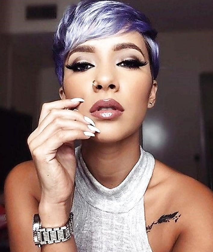Different short hairstyles for black ladies-9031