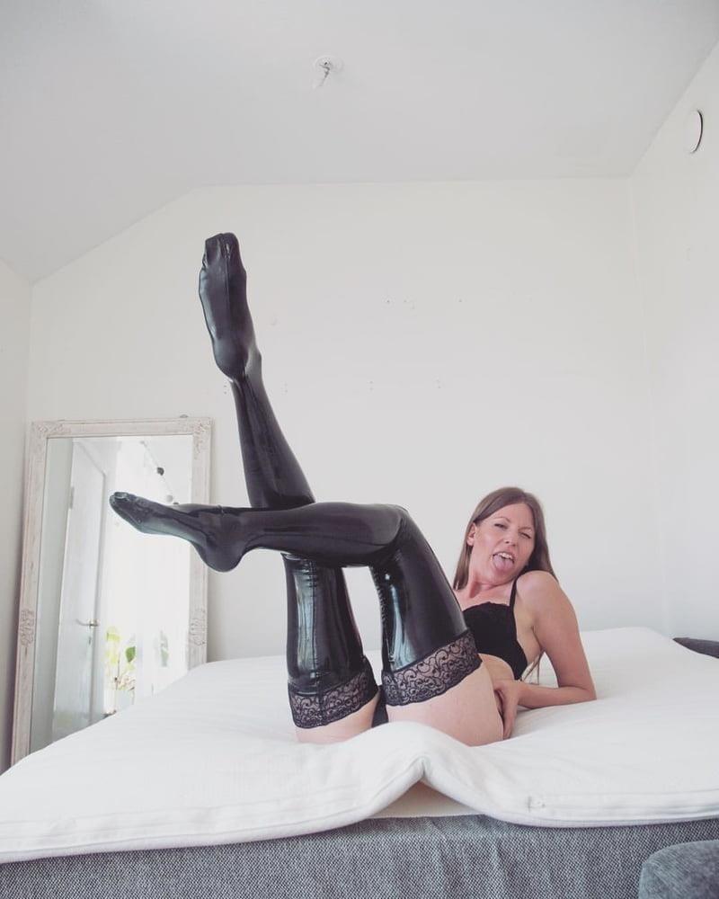 Latex stockings porn pics-1015
