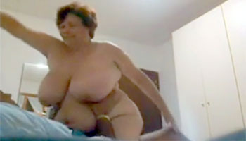 Снял на скрытую камеру как выебал бабушку / Fuck old fat whores on hidden cam (2019)