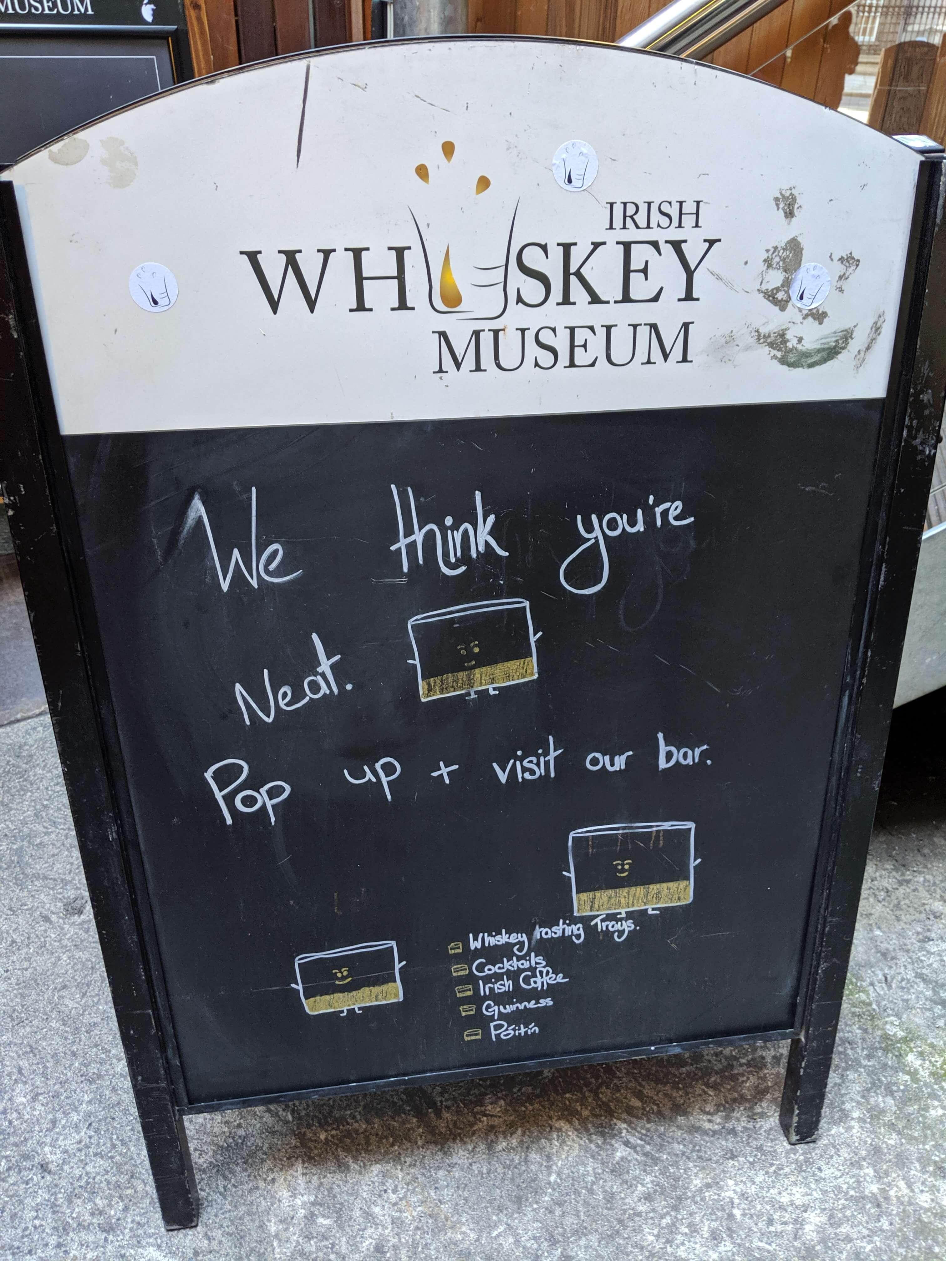 Irish Whiskey Museum Quote