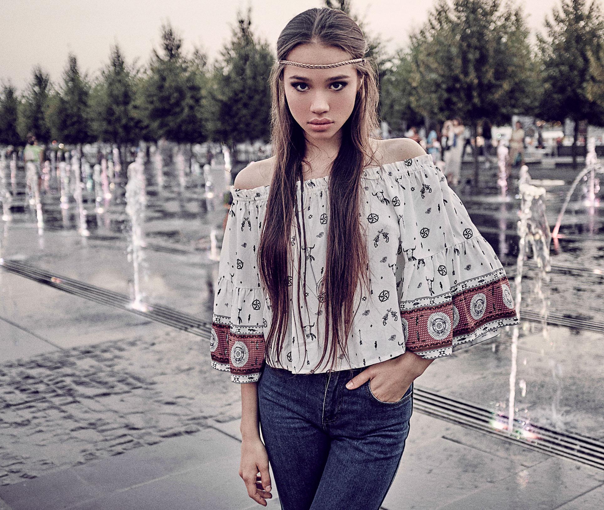 фотомодель Аделя Павлова / фото 01