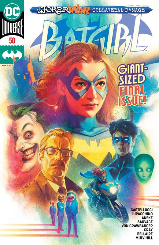 Batgirl Vol.4 #0-52 + Annual #1-3 + Special (2011-2016) Complete