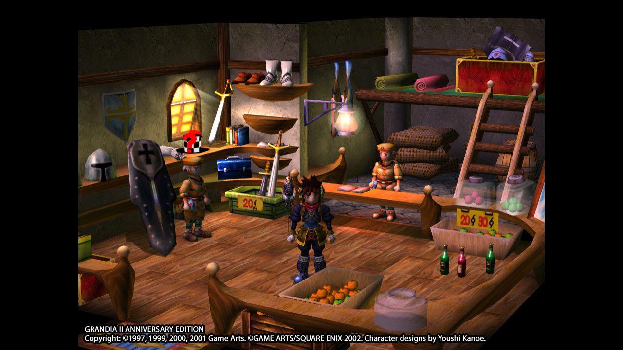 Grandia II Anniversary Edition Captura 3
