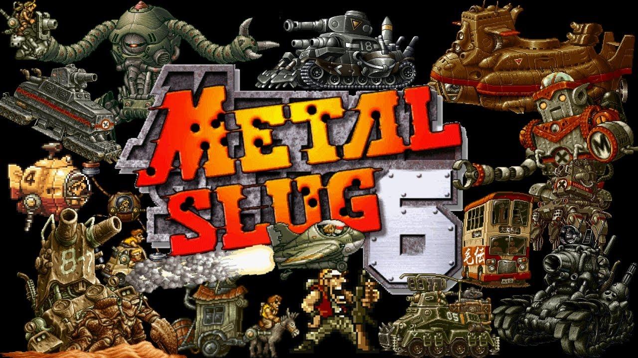 Metal Slug 6 (Metal Slug 3 bootleg) [Bootleg] Retro PC Oyunu Oyna