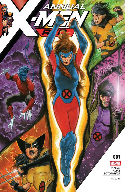 X-Men Red #1-10 + Annual (2018-2019)