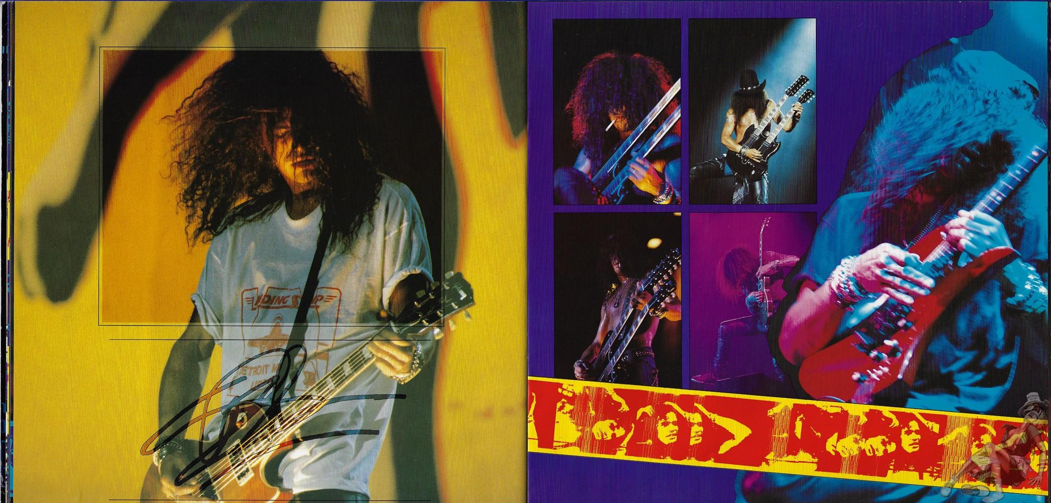 1993.MM.DD - Use Your Illusion Tour program SQK2QZcz_o