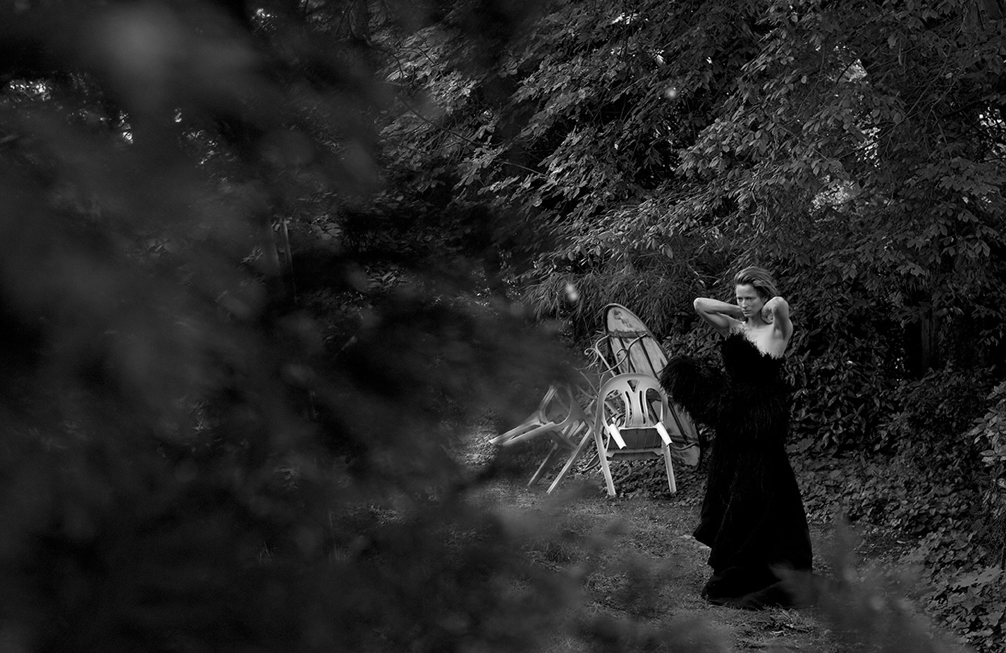 Тильда Суинтон, фотограф Питер Линдберг / фото 01