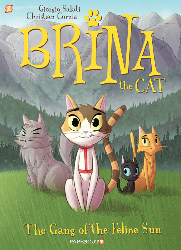 Brina the Cat 01 - The Gang of the Feline Sun (2020)