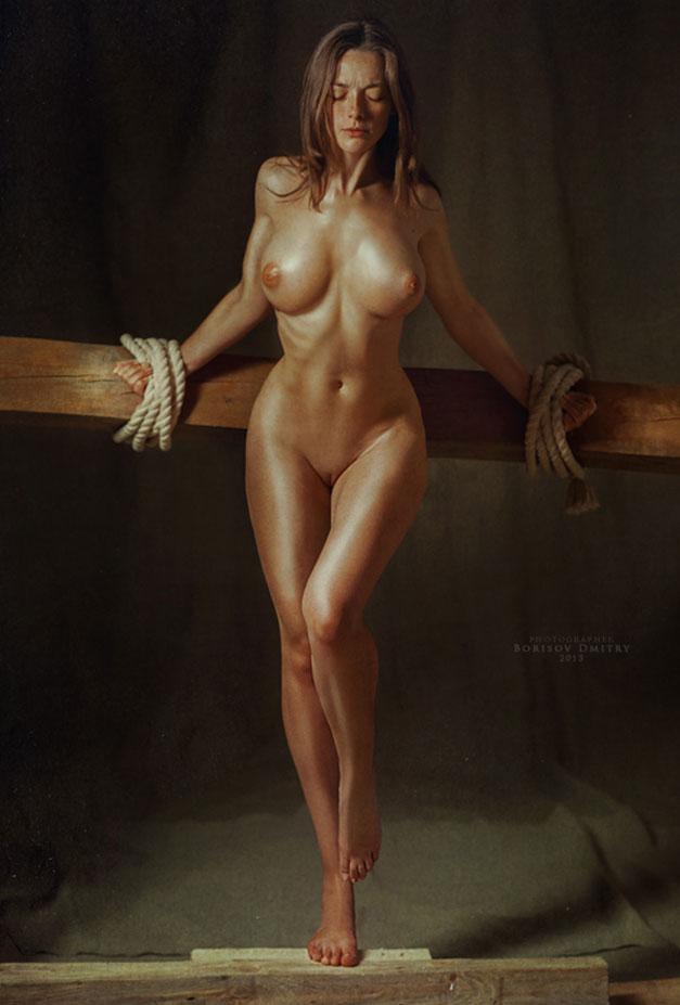 сексуальные девушки на эротических фотографиях Дмитрия Борисова