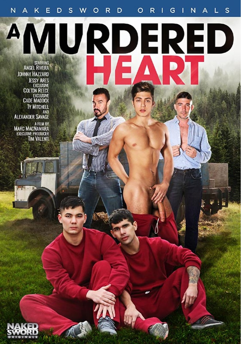 A Murdered Heart / Убитое сердце (Marc MacNamara, Naked Sword) [2020 г., Muscle, Oral, Anal, Outdoor, 69, Tattoos, Masturbation, Cumshots, DVD9]