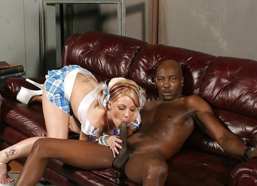 Interracial blowjob pic-1203