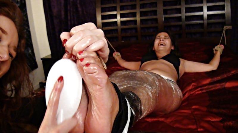Bondage tickle feet-2012