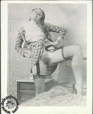 Vintage hairy nude-1781