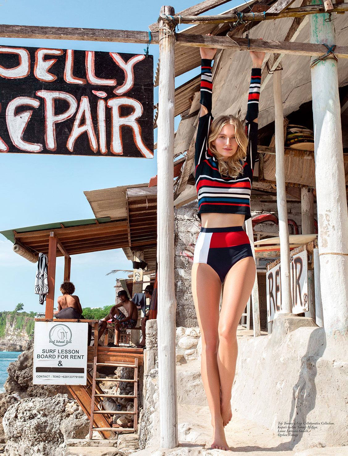 Bali Surf / Nele by Daniela Rettore / Elle Serbia july 2018