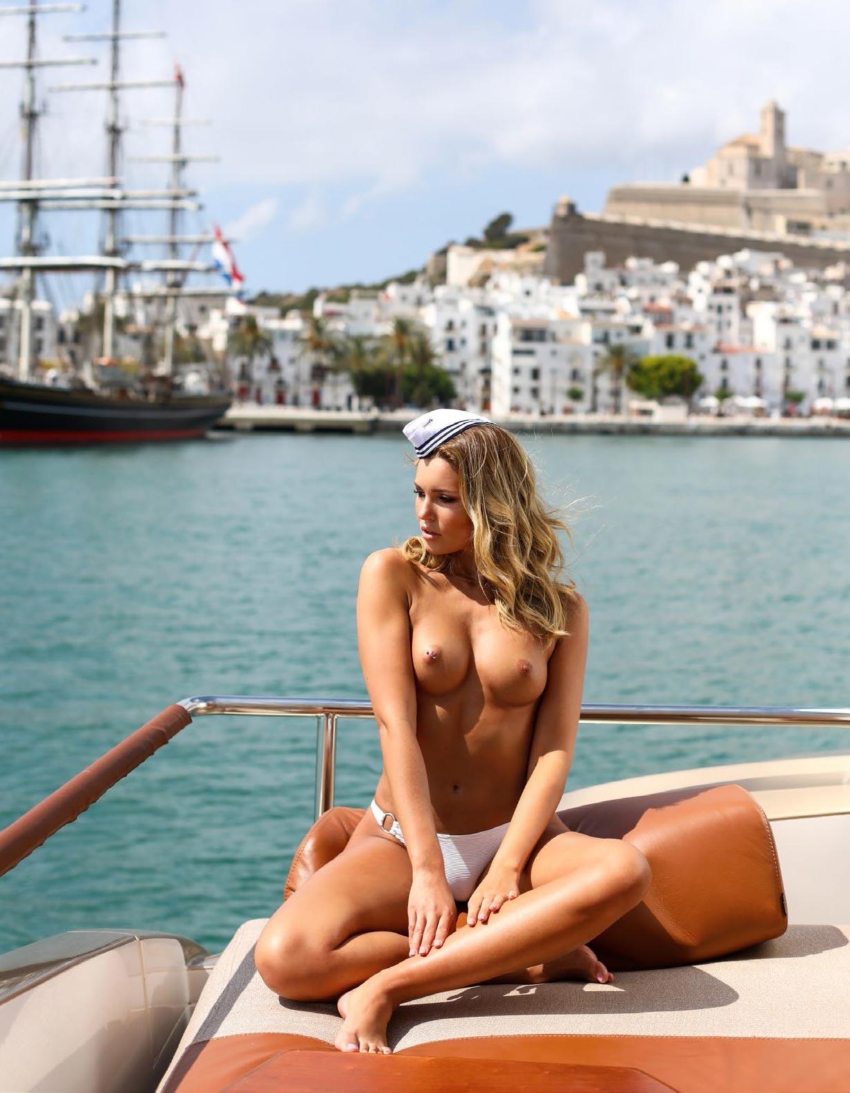 Софи Имельманн в спецвыпуске журнала Playboy -Девушки летом- / фото 02