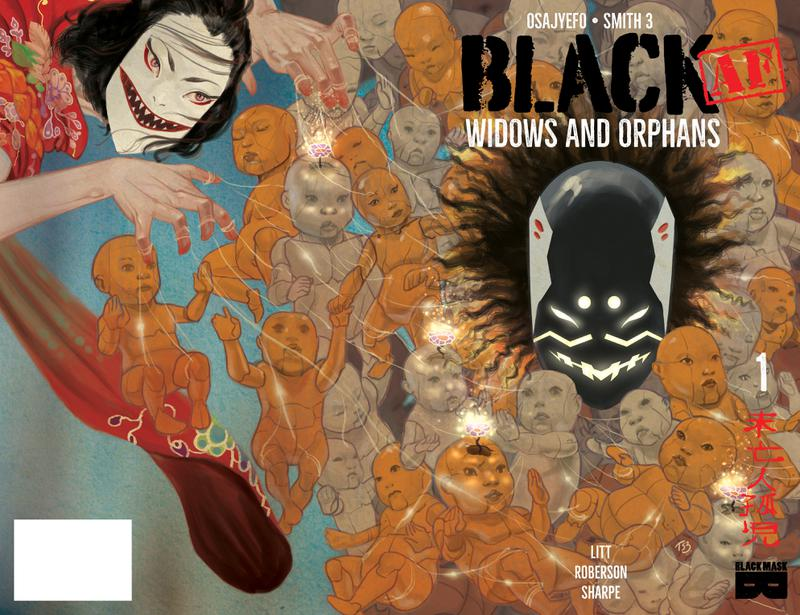 BLACK (AF) - Widows and Orphans #1-4 (2018)
