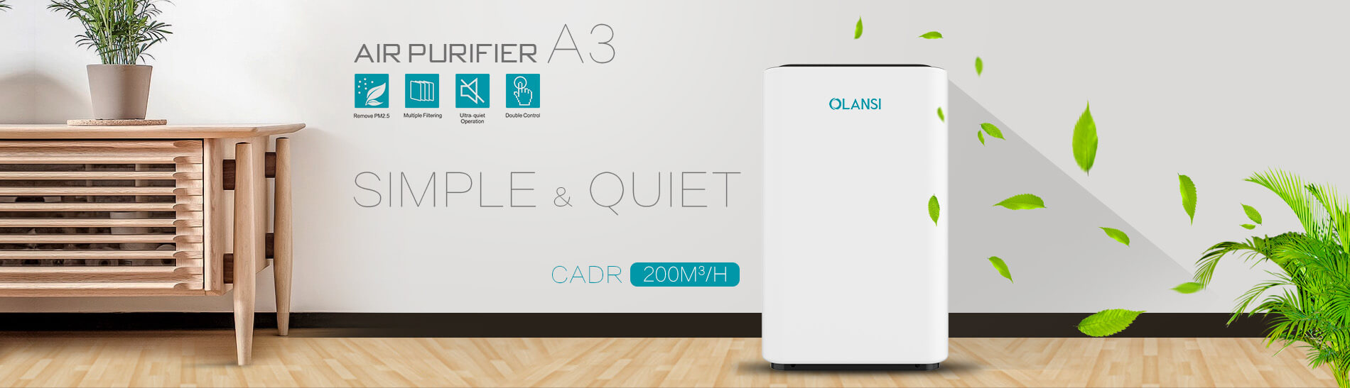 Olansi Healthcare Co., Ltd Presents a Wide Range Of Home Air Purifiers To Prevent Covid-19 Viruses Spreading