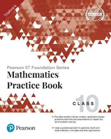 Pearson Iit Foundation Series Mathematics Practice Book Clas