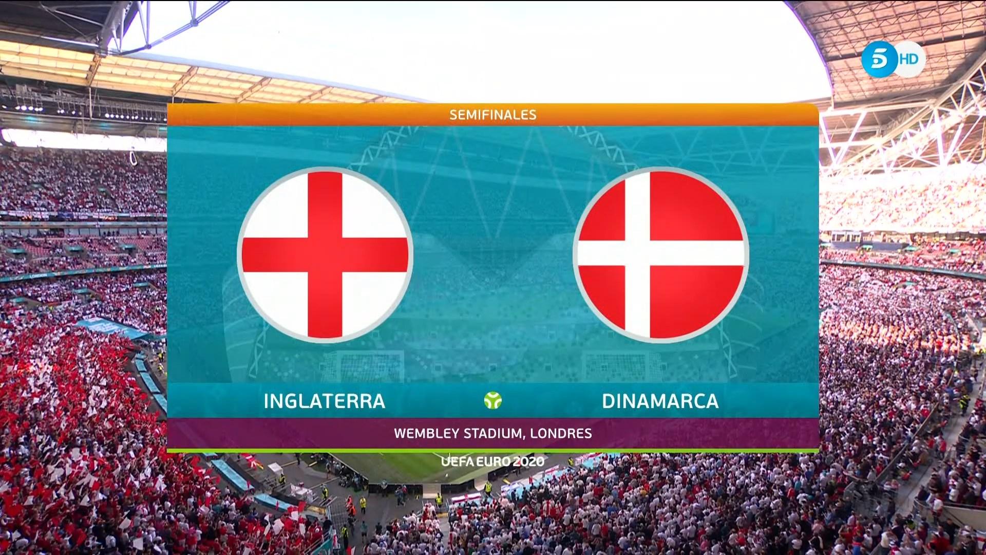 Full match: England vs Denmark