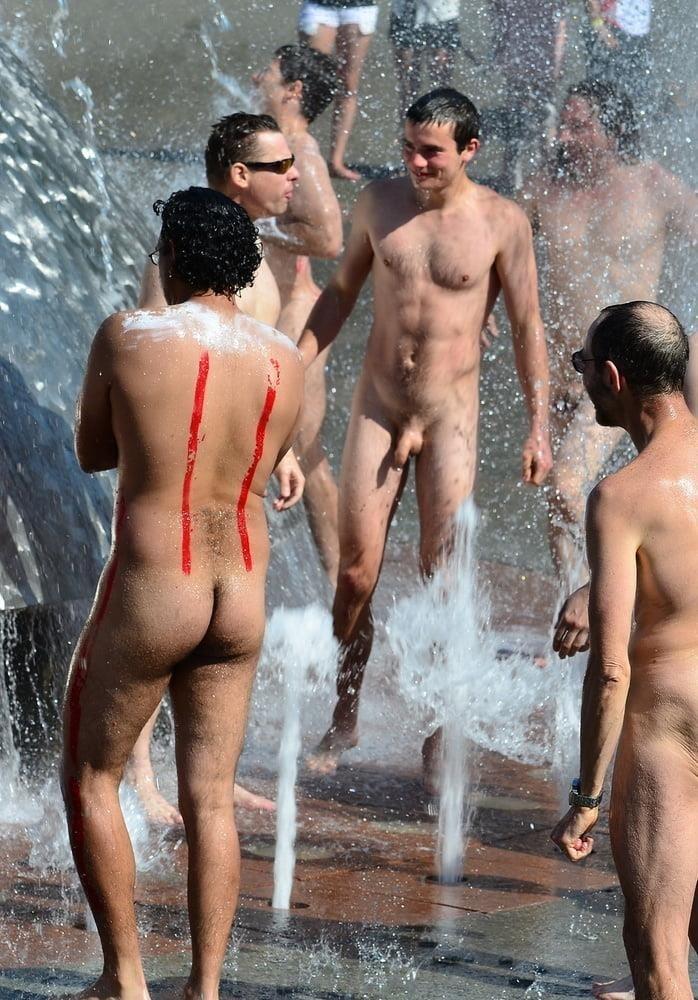 Nude beach bukake-4308