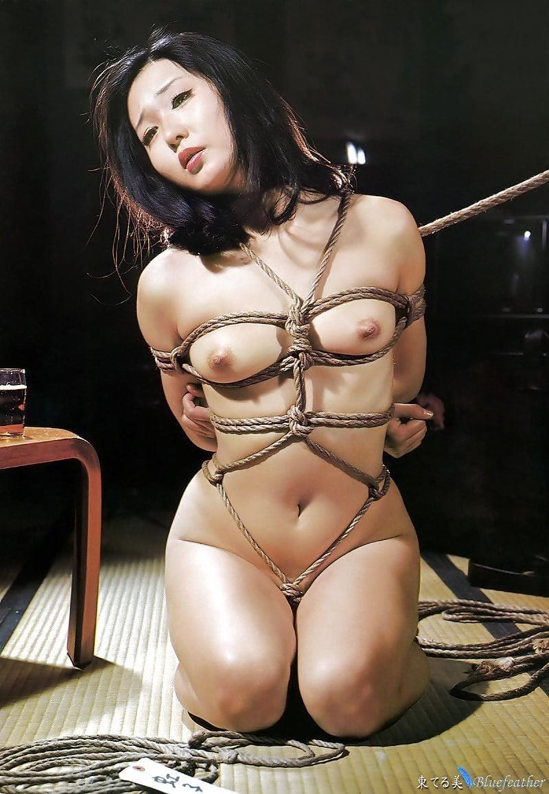 Japanese bondage rope-3955