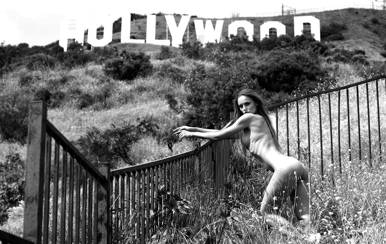 голая Адель Вакула в Голливуде и на страницах журнала Playboy