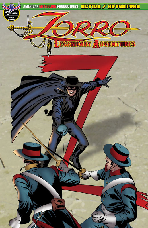 Zorro - Legendary Adventures #1-3 (2018-2019)