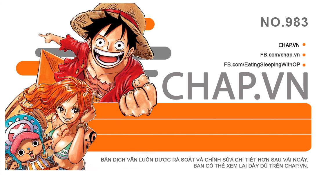 [Truyện Tranh] One Piece Chapter 983 - Lôi Minh