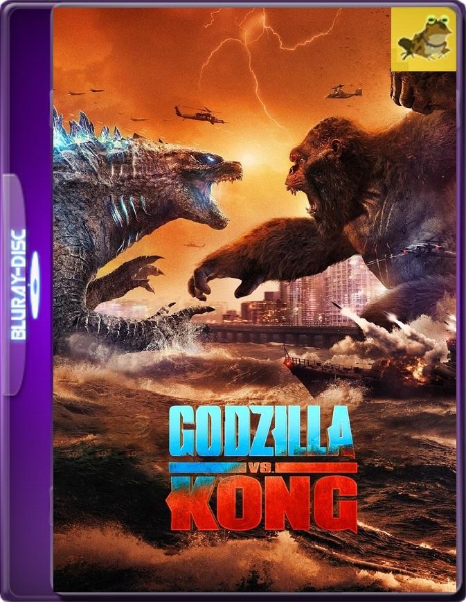 Godzilla VS Kong (2021) WEB-DL 1080p (60 FPS) Latino / Inglés
