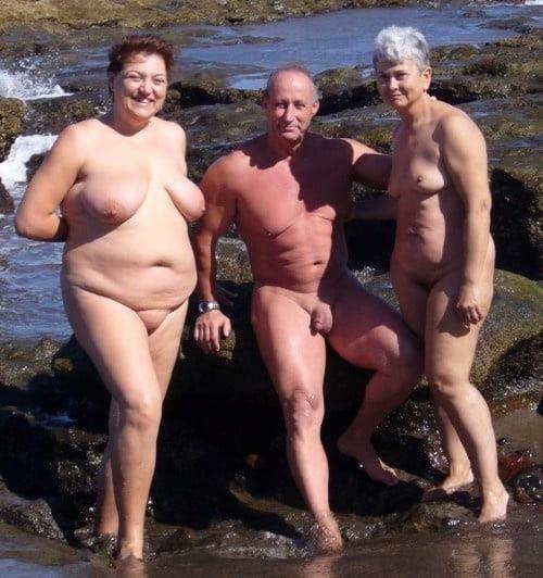 Mature nude beach pic-8544