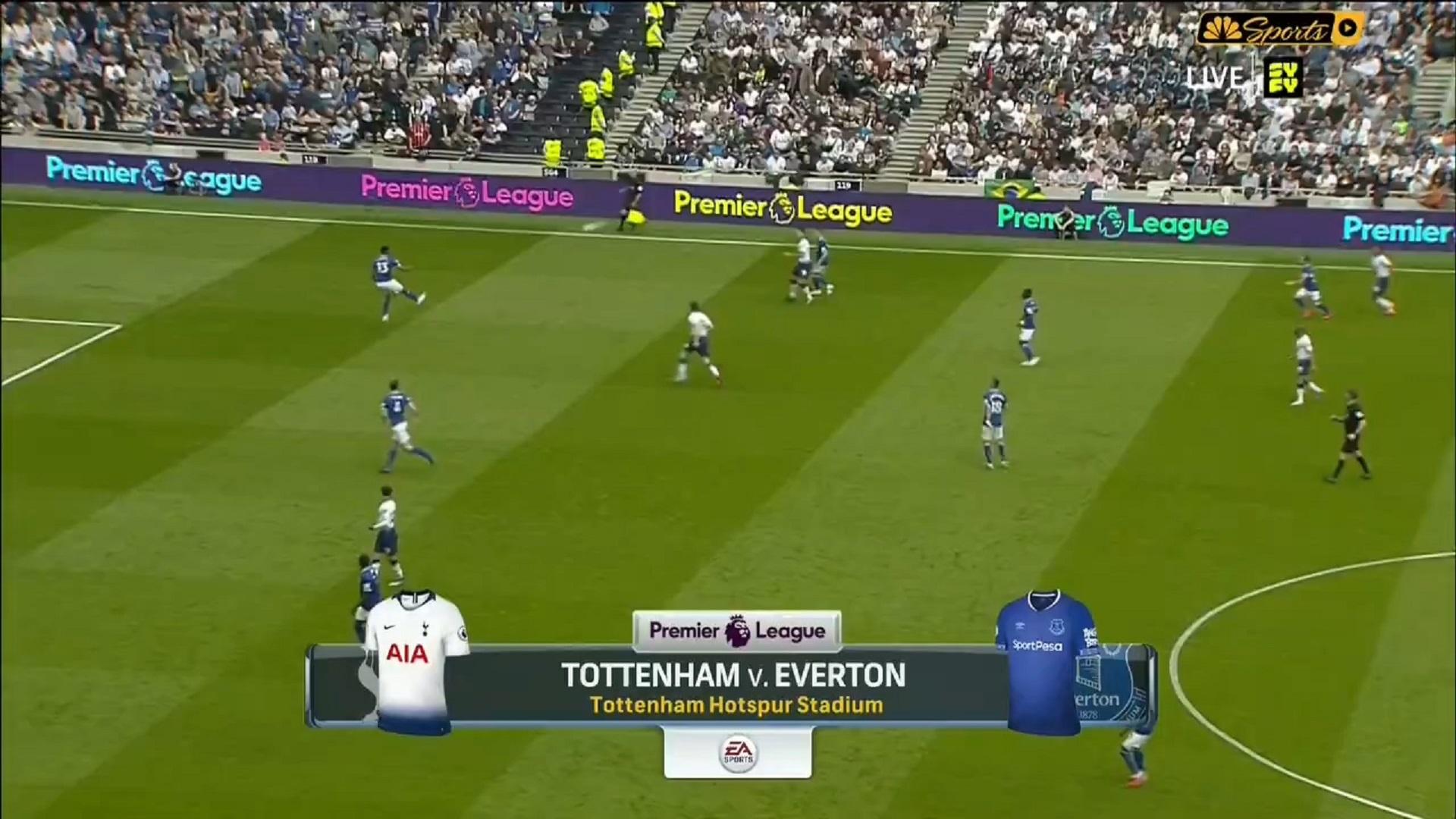 Xem lại: Tottenham Hotspur vs Everton