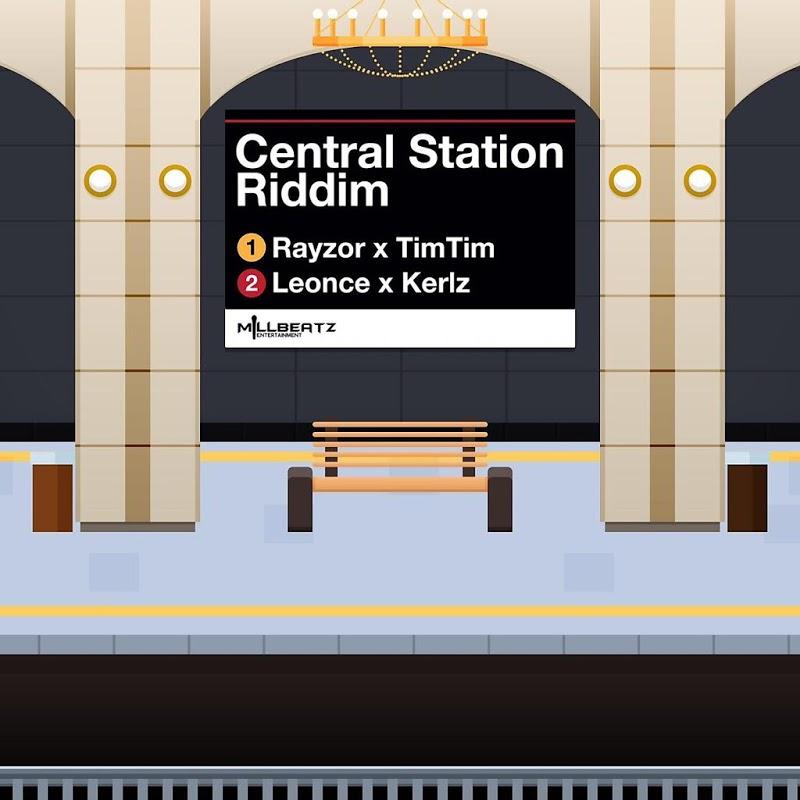 Poster for Central Station Riddim
