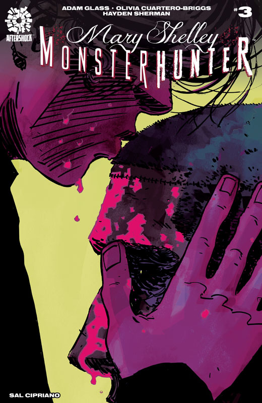 Mary Shelley Monster Hunter #1-5 (2019)