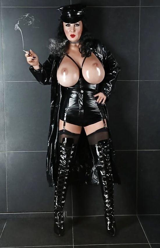 Latex big tits pics-2916