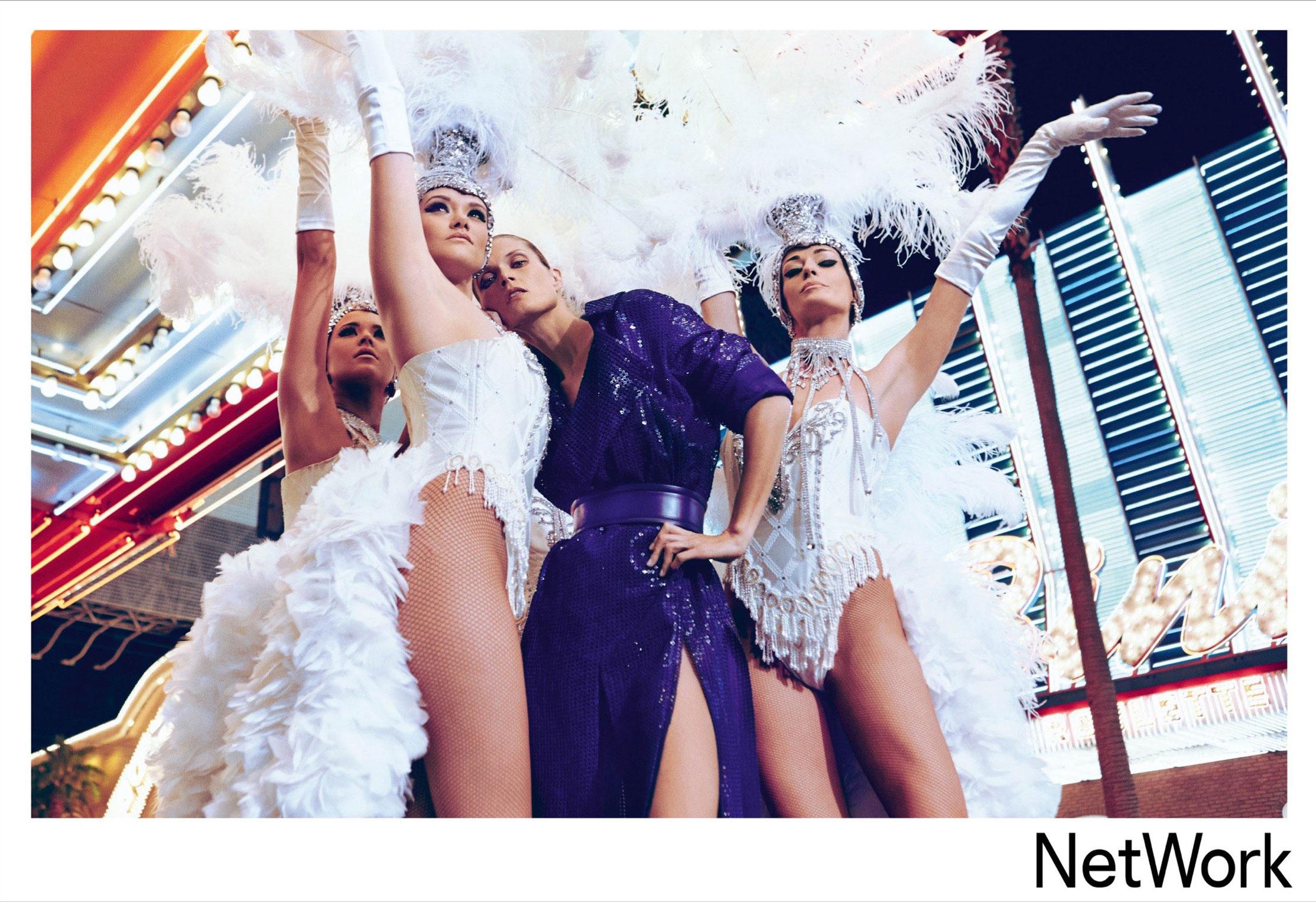 супермодель Малгоша Бела в рекламной кампании турецкого модного бренда Network, сезон весна-лето 2015 / фото 03