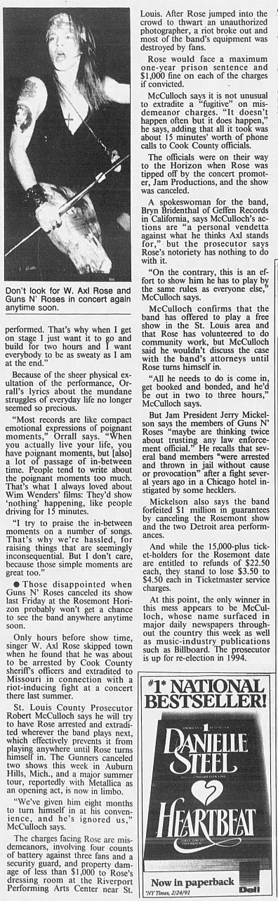 1992.04.11/16 - Chicago Tribune/AP/The St. Louis Post Dispatch - Reports (Axl) An6uiFYM_o